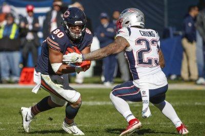 Chicago Bears release veteran TE Trey Burton