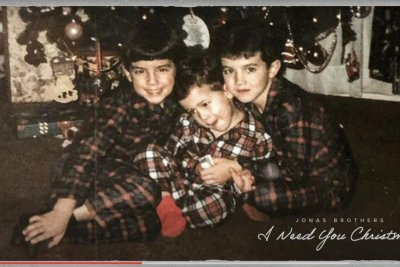 Jonas Brothers release 'I Need You Christmas' holiday song