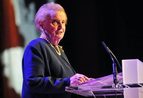 Former Secretary of State Albright joins Twitter