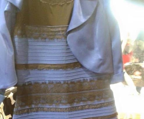 #TheDress splits the Internet in half