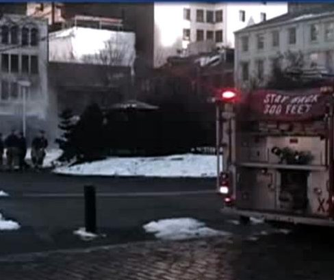 Fog machine at art installation prompts false fire alarms