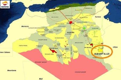 Algerian gas discovery made near Libya