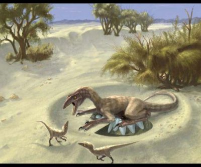 Study: Sun-warmed dinosaurs could probably run pretty fast