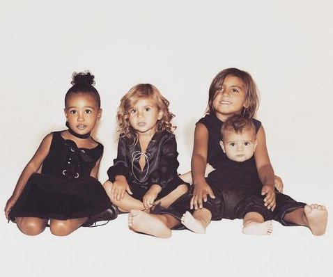 Kardashian family Christmas card features North, Disick kids