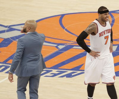 Carmelo Anthony 'surprised' by New York Knicks' coaching change