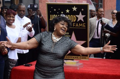 Gospel singer Shirley Caesar receives star on Hollywood Walk of Fame
