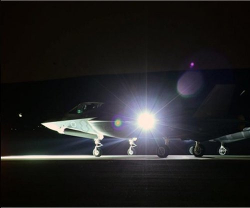 Israeli air force conducts first F-35 night sortie