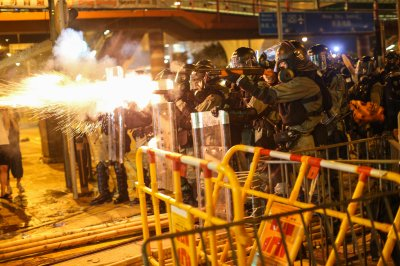 Beijing won't rule out military intervention in Hong Kong protests