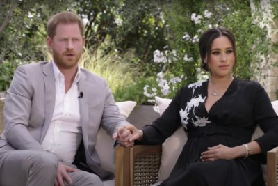 Prince Harry, Meghan Markle speak with Oprah Winfrey in teaser for CBS special