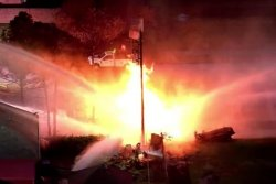 At least 6 injured after natural gas lines explode in Texas