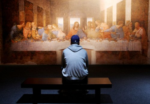 Cleaner air surrounds 'Last Supper'