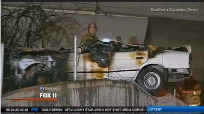 Irvine car crash kills 5 teens, driver unlicensed