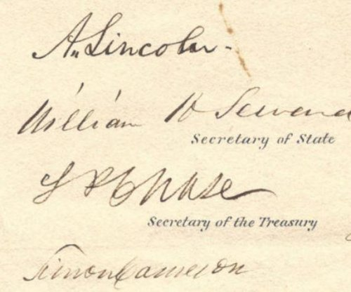 Lincoln document from Civil War to be sold for $150K