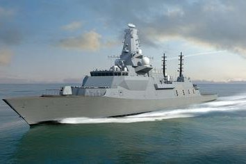 U.K., Australian ministers review BAE ship construction at Glasgow shipyard
