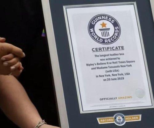 Rainbow boa at WorldPride breaks Guinness record
