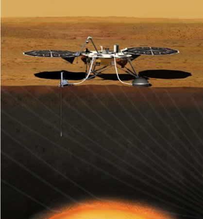 U.S., France to send mission to Mars to study planet's interior