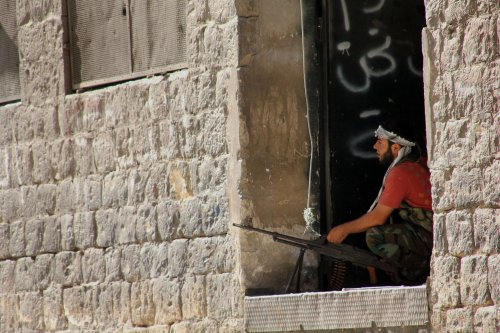 Report: Syria rebels to get U.S. armed aid