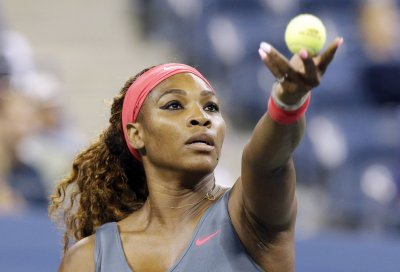 Serena Williams posts solid first-round win in Australia