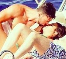Lea Michele kisses Matthew Paetz in a bikini in new pictures
