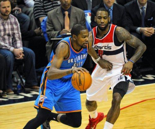 Oklahoma City Thunder visit New York Knicks