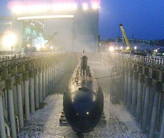 U.S. Navy exercises option for submarine support