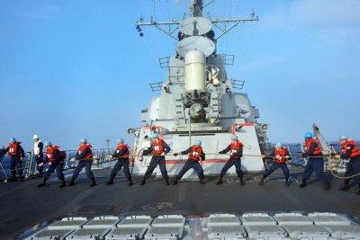 U.S., South Korea, Japan target North Korea submarine threats