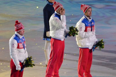 IOC bans four Russian skiers for doping at Sochi Olympics