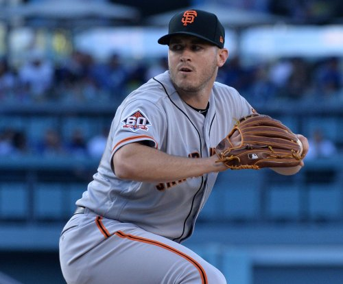 Blach has tough act to follow as Giants visit Padres