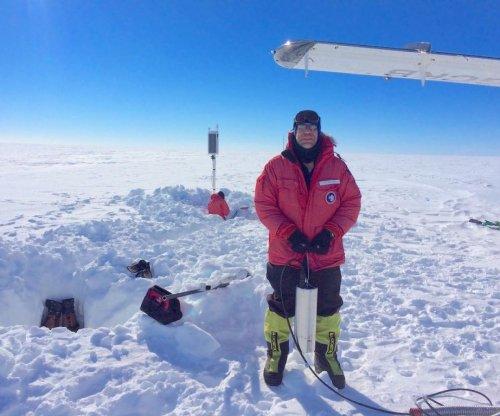 Scientists record Antarctica's singing ice shelf