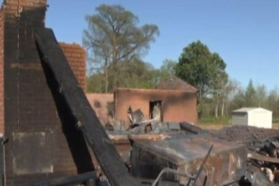 Three black churches in Louisiana parish to move services after fires