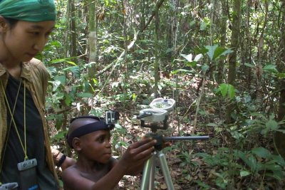 Indigenous Congo foragers learn early to use sun for orientation