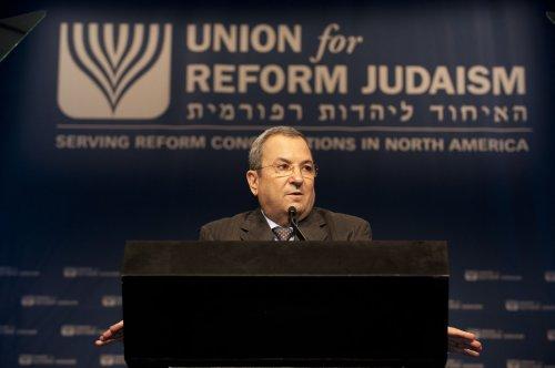 Barak speaks against 'unilateralism'
