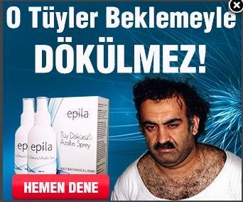 Al-Qaida leader featured in hair removal ad