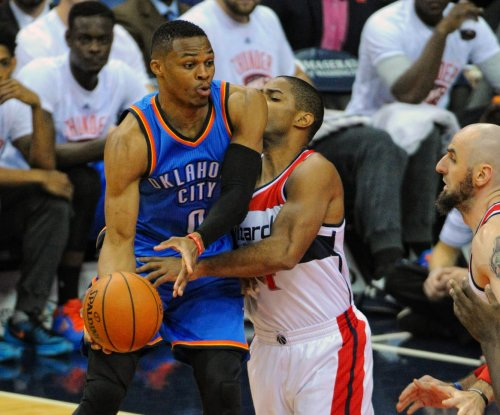 Russell Westbrook's triple-double leads Thunder over Wizards