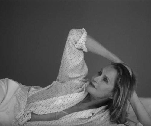 Lauren Hutton stars in Calvin Klein underwear ad at 73
