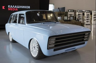 Kalashnikov takes aim at Tesla with new Russian electric car