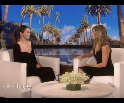 Selena Gomez recalls meeting Jennifer Aniston in a bathroom