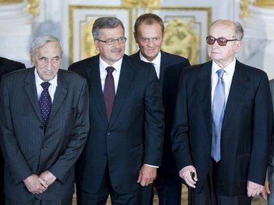 Poland's first non-Communist prime minister, Tadeusz Mazowiecki, dies