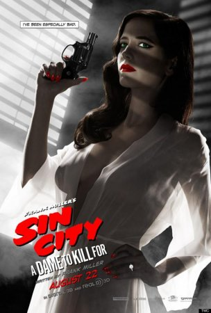 Eva Green finds 'Sin City' poster controversy 'a bit odd'