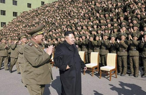 North Korea's Kim Jong Un photographed without cane