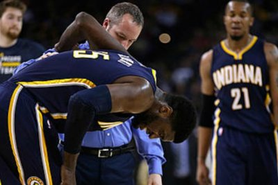 Thompson's 40 lead Golden State Warriors over Indiana Pacers
