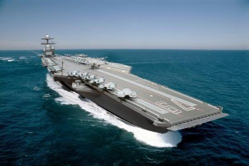 HII gets design, building contract for new aircraft carrier