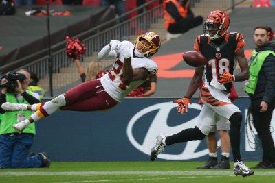 Washington Redskins, Cincinnati Bengals battle to tie in London