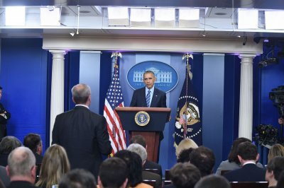 Obama slams Russia's role in Syria, U.S. election at final 2016 press briefing