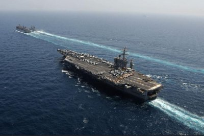 Eisenhower strike group launches missions against Islamic State