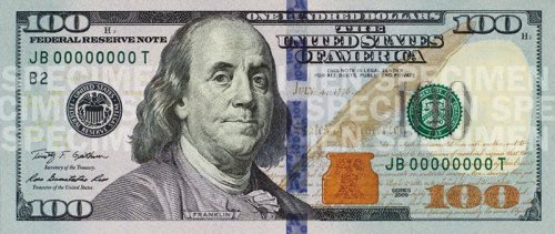 Fake $100 bills had Lincoln watermark