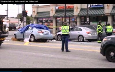 Elderly man causes deadly chain-reaction crash in Chicago suburb