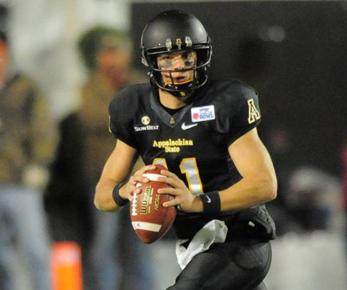 QB Taylor Lamb carries Appalachian State past Georgia Southern
