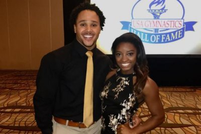 Simone Biles goes Instagram official with first-ever boyfriend