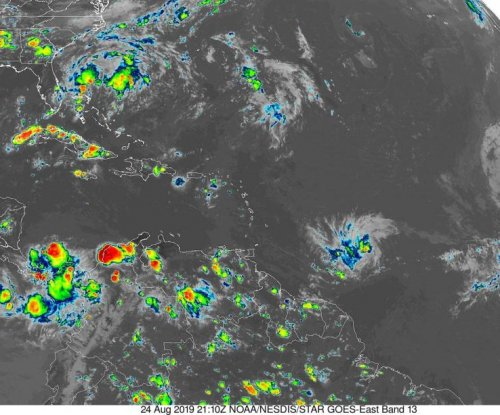 Tropical Storm Dorian forms east of Lesser Antilles